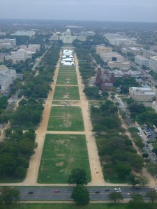 From the Washington Monument