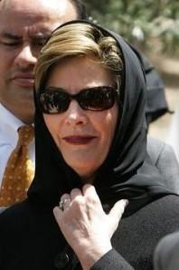 Laura Bush hijab