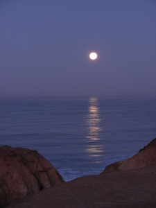 moonset dawn bluffs  044